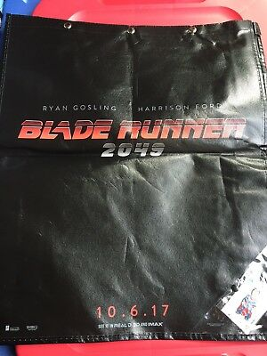 2017 SDCC Exclusive Comic Con BLADE RUNNER  Swag Bag Backpack with SUPERMAN Pin