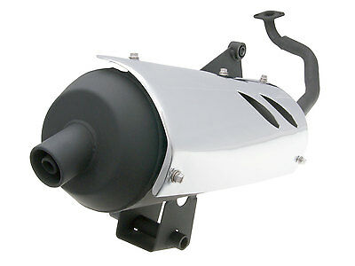 Exhaust Version 2 for GY6 125, 150ccm 152QMI China Scooter