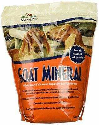 Manna Pro Goat Mineral Supplement, 8 lb New