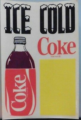 Advertising Soda Coca-Cola Sticker Ice Cold Coke