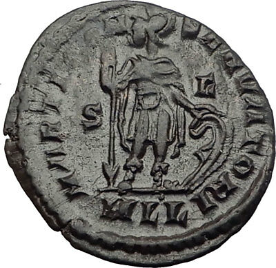 CONSTANTINE I the Great 314AD London Londinium Ancient Roman Coin  MARS i64037