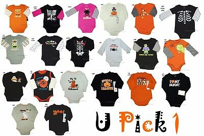 Halloween Bodysuit One Piece Girls Boys Baby 1st Outfit costume Creeper Romper