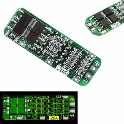 3S20A12.6V Cell18650 BMS Protection Chargeur de batterie Liion Lithium PCB Board
