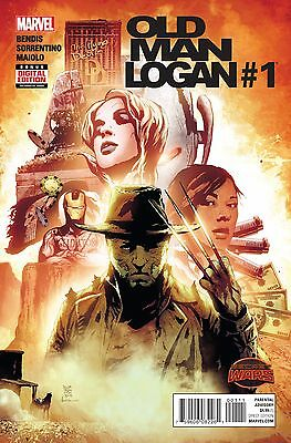 OLD MAN LOGAN #1 (Secret Wars), New, First print, Marvel Comics (2015)