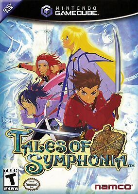 ***tales Of Symphonia Nintendo Gamecube Game W/ Case***