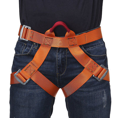 Rock Climb Harness Seat Belts Safety Rappelling Downhill Equipment Speed Kit