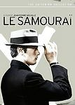 Le Samourai (DVD, 2005, Criterion Collection) Rare OOP SEALED