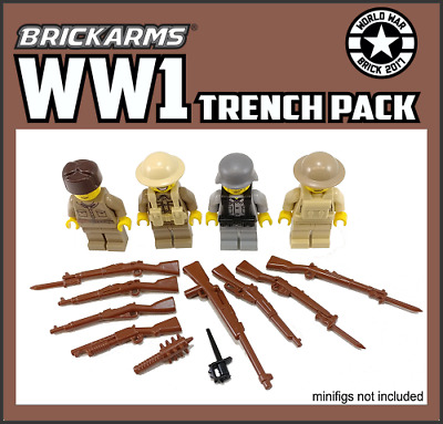 Brickarms Russians Weapons Pack V 2 Fits Lego No mini figs inc BNIP