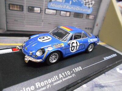 renault alpine a110 le mans 1968 resine mit sch ler. Black Bedroom Furniture Sets. Home Design Ideas