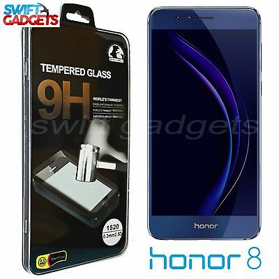 100% Genuine Tempered Glass Screen Protector 9H Film For Huawei Honor 8