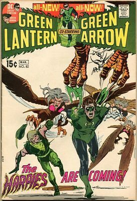 Green Lantern #82 - VF - Neal Adams Art