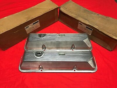 Nos 69-70 Ford Mustang / Cougar 428Cj Valve Covers C9Ze-6583-C C9Zz-6582-B