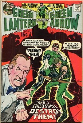 Green Lantern #83 - FN/VF - Neal Adams Art