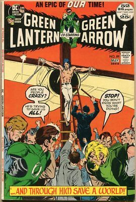 Green Lantern #89 - VG/FN - Neal Adams Art