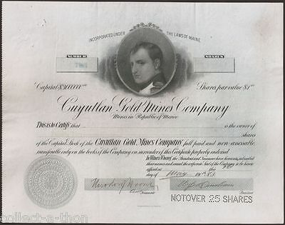 "Drastically Rare Mexico ""napoleon"" Bond! Don't Miss This 1-In-A-Lifetime Chance!"
