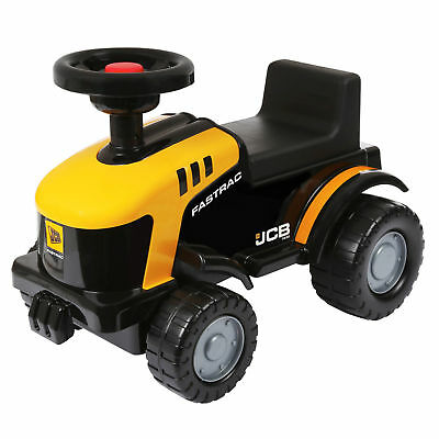Jcb Kids Childrens Ride On Toy Car Truck Tractor Play With Working Horn
