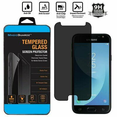 Privacy Tempered Glass Screen Protector for Samsung Galaxy J7 Prime (T-Mobile)