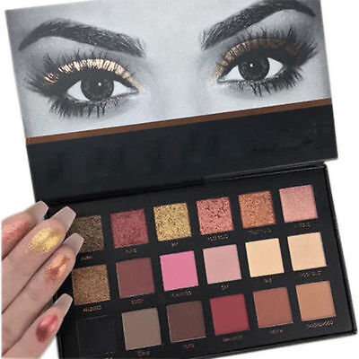 18 Colors Pro Rose Gold Eyeshadow Makeup Matte Eyeshadow Palette Cosmetics