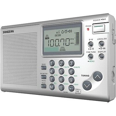 Sangean ATS-405 FM-AM-SW Stereo World Receiver NEW