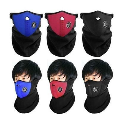 1XCycling Motorcycle Snowboard Motorbike Ski Half Face Mask Neck Warm Cover CB