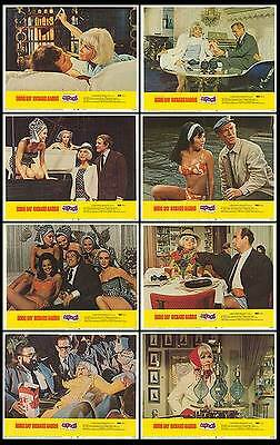 CAPRICE orig 1967 lobby card set DORIS DAY/RICHARD HARRIS 11x14 movie posters