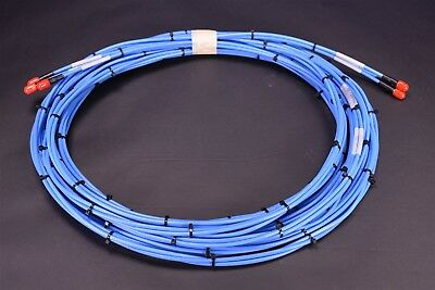 35' HUBER+SUHNER /  AEP Radiall RF Microwave Cable Assembly SMA Aerospace