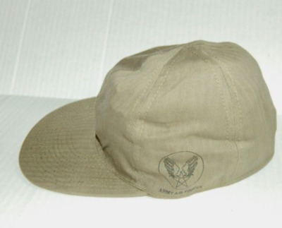 WWII US Army - Air Forces USAAF A3  HBT Mechanics Cap 60 CM