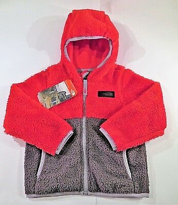 New The North Face Toddler Sherparazo Boy Hoodie Jacket Tnf Red 2T 3T 4T Nwt $75