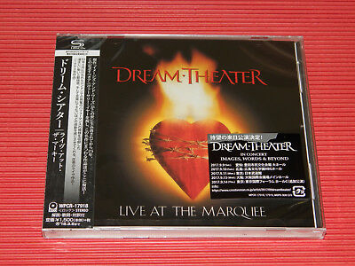 2017 DREAM THEATER  Live At The Marquee  JAPAN SHM CD