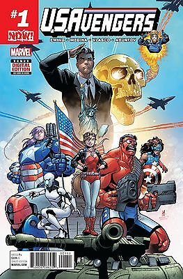 US AVENGERS #1, New, First print, Marvel NOW (2017)