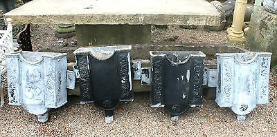 Reclaimed 1932 Architectural Antique Lead Rain Hoppers  -  Warwick Reclamation