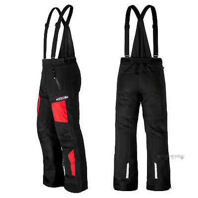 Snowmobile CKX Peak Pants XLarge Men Adult Black  Red Snow Bibs Winter Windproof