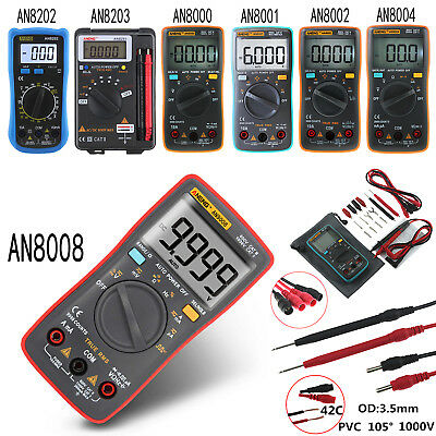 ANENG True-RMS Digital Multimeter 9999 Counts Square Wave Voltage AC DC Ammeter