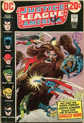 Justice League Of America #104 - VG-