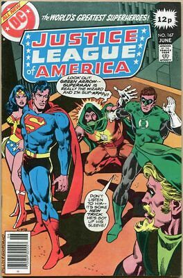 Justice League Of America #167 - FN