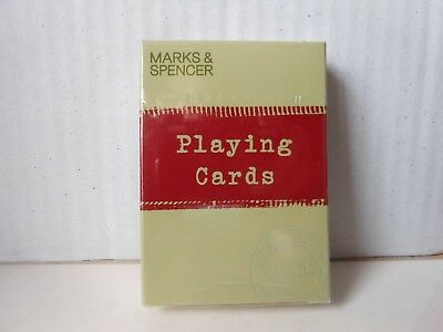 PLAYING CARDS MARKS & SPENCER in a sealed packet
