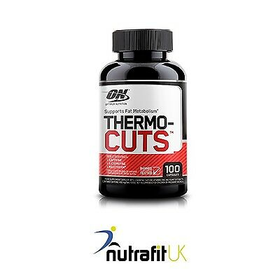 ON OPTIMUM NUTRITION THERMOCUTS 100 caps fat burner metabolism booster