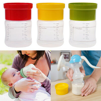 1 Pcs BPA Free Wide Neck Breastmilk Collection Bottle Breastmilk Storage Cup