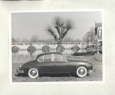 1959 ? Jaguar Mark II Saloon ORIGINAL Factory Photograph & Press Sheet wy4760