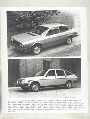 1974 ? Lancia Beta HPE ORIGINAL Factory Photograph wy4795