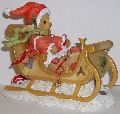 Cherished Teddies Sherwood Santa Figurine for 2014 NEW # 4040461 20th in Series