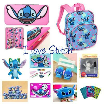 Disney We Love Stitch Purse Stitch & Scrump Mxyz Bag Mini Figures Pencil Case