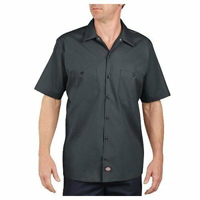 Dickies Occupational Workwear LS535CH XL Polyester/ Cotton Men's Short Sleeve