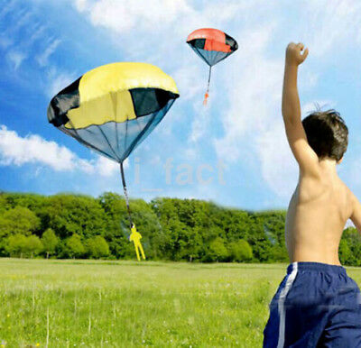Outdoor Playing Hand Throwing Parachute Mini Children's Kids Educational Toy New