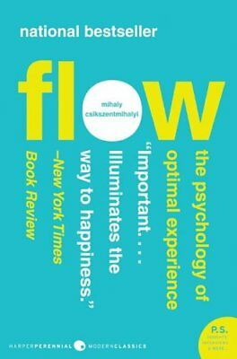 Flow The Psychology of Optimal Experience 9780061339202 (Paperback, 2008)