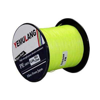 PE Yellow/Green Fishing Line 100 300 500 1000M Spectra Dyneema Braid LINE SPORTS