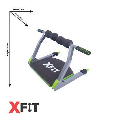 6 in 1 Smart Exercise Machine For Core & Abs Home Gym Wonder Workouts XFit