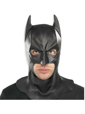 Adult Batman Full Mask Licensed Fancy Dress DC Comics Dark Knight Accessory New