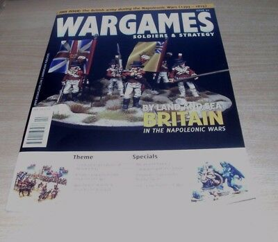 WarGames Soldiers & Strategy magazine #92 SEP/OCT 2017 Napoleonic Wars Britain