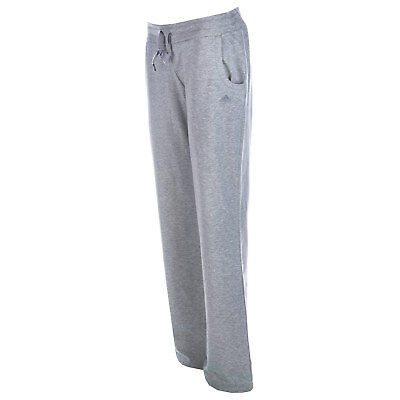 Womens adidas Womens Essentials Jersey Knit Pants in Grey Marl - 8-10S